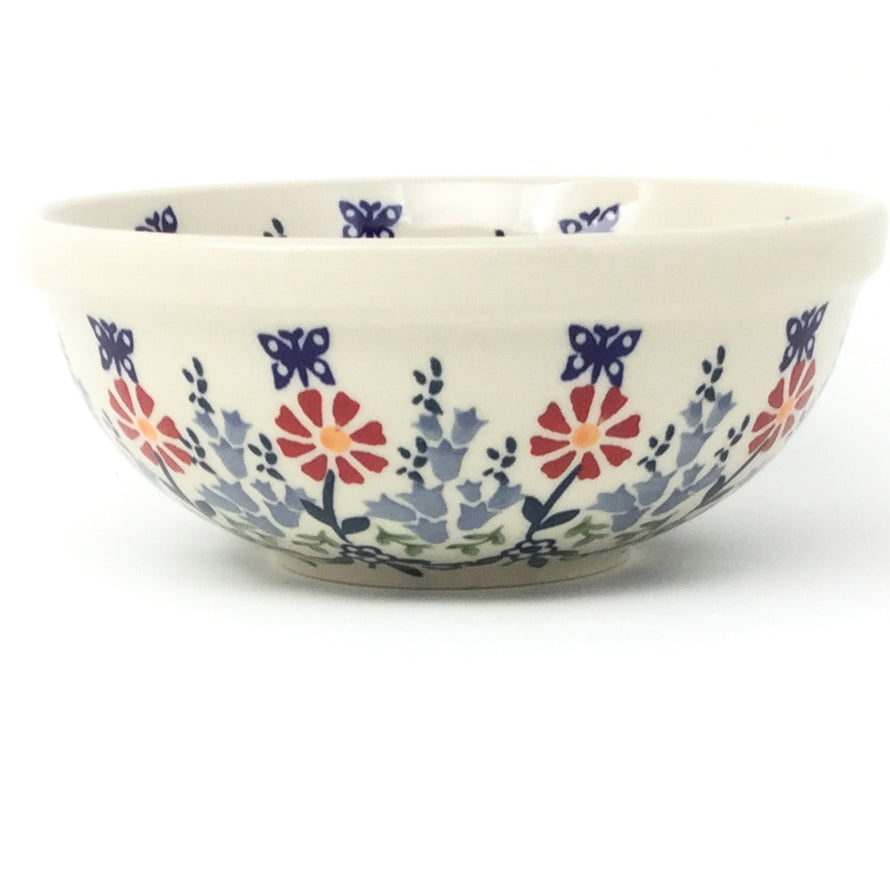 Dessert Bowl 12 oz in Wavy Flowers