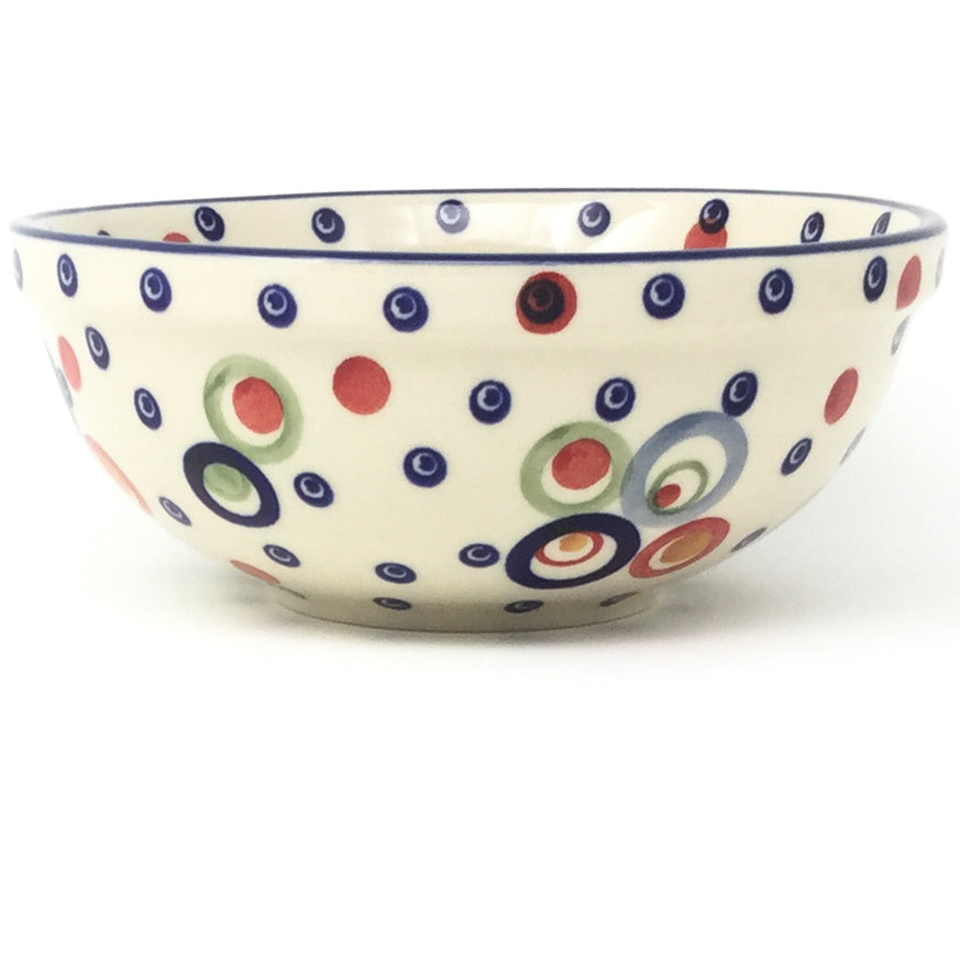 Dessert Bowl 12 oz in Modern Circles