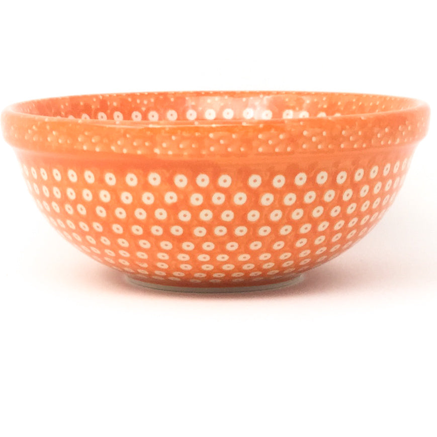 Dessert Bowl 12 oz in Orange Elegance