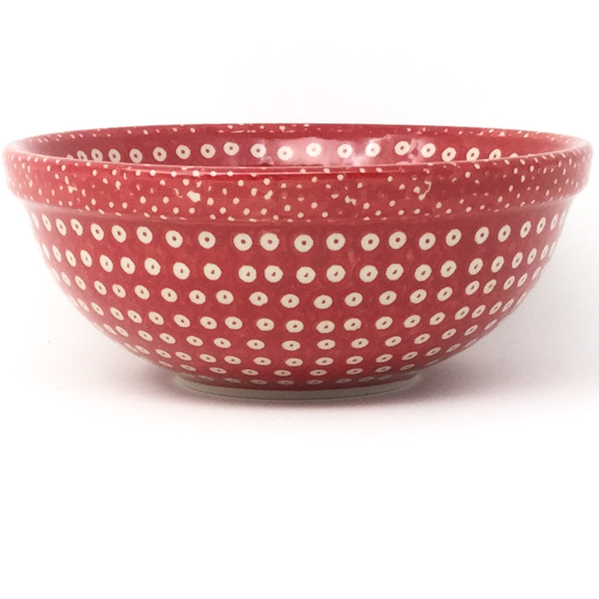 Dessert Bowl 12 oz in Red Elegance