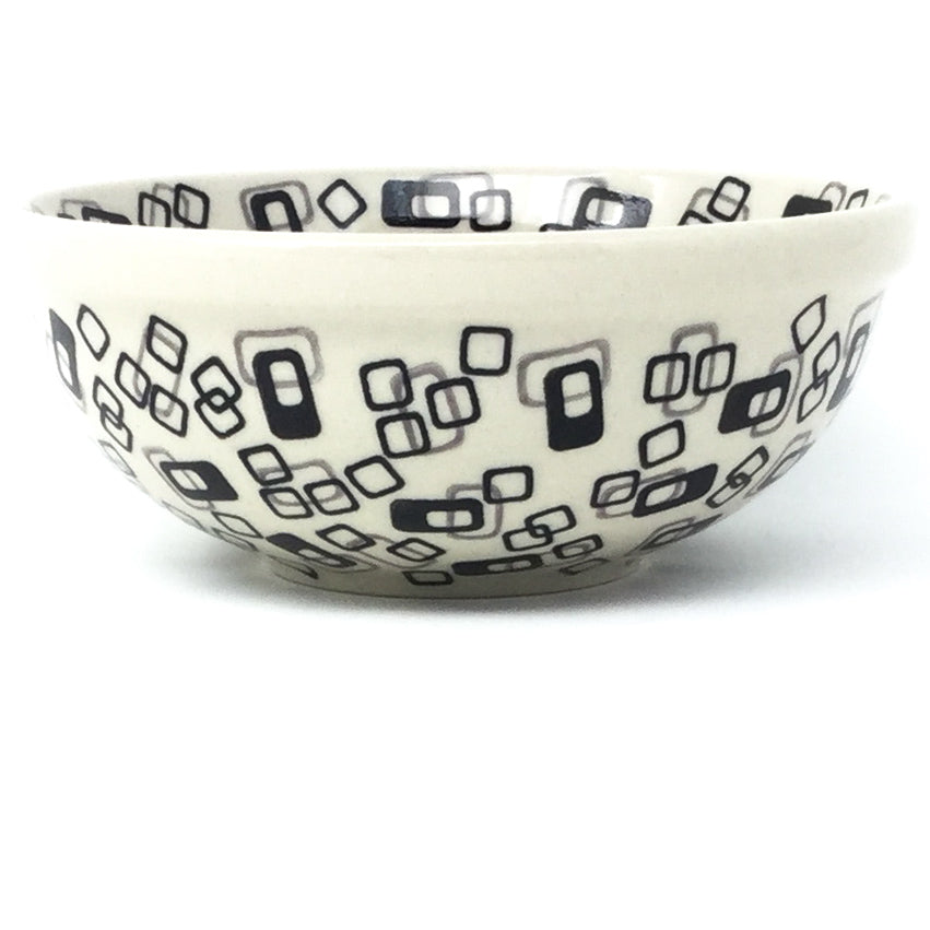 Dessert Bowl 12 oz in Modern Gray & Black