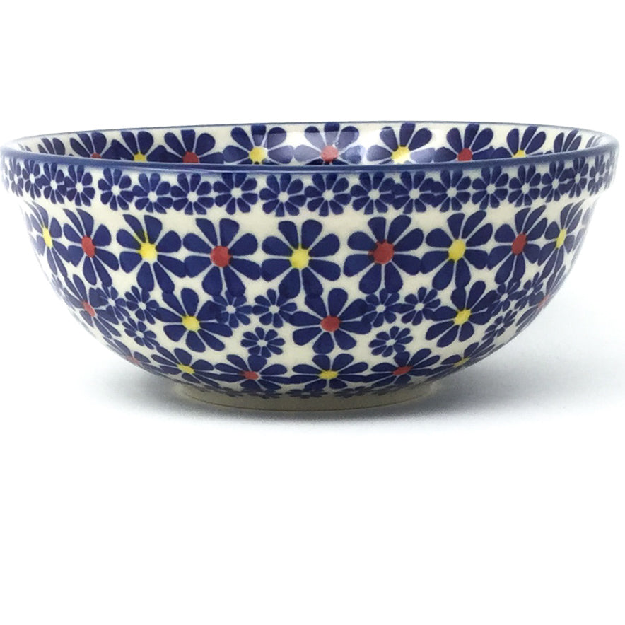 Dessert Bowl 12 oz in Flowers on White