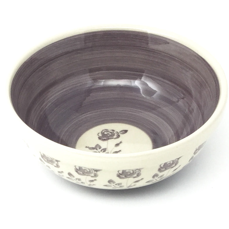 Dessert Bowl 12 oz in Gray Rose