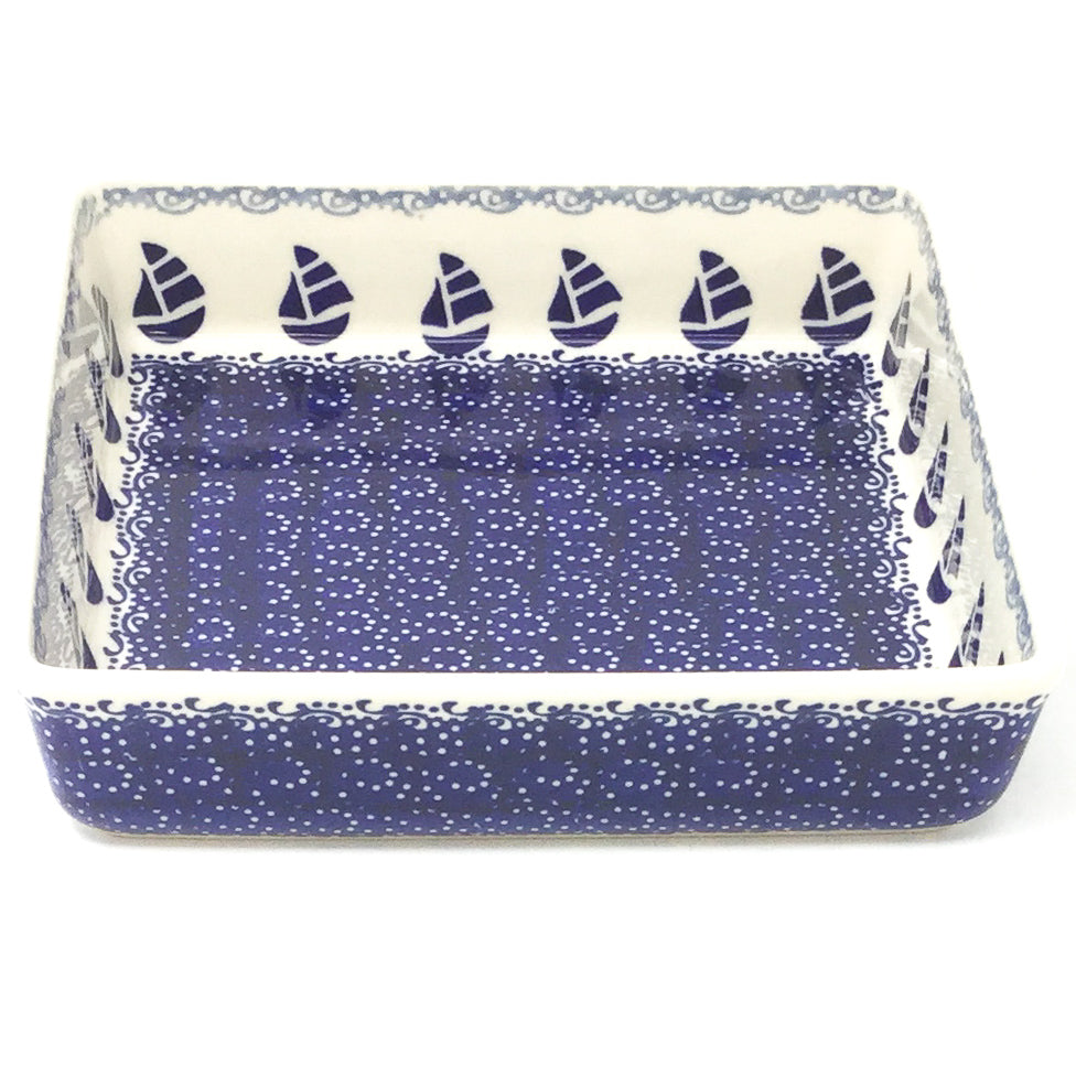 Polish Pottery Square Baker