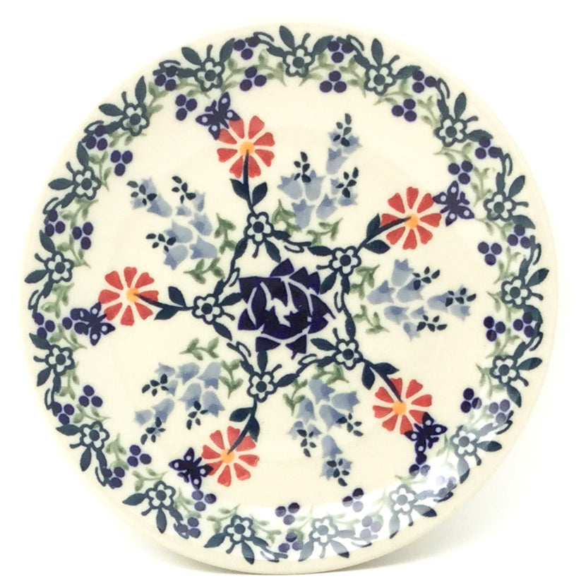 Bread & Butter Plate in Wavy Flowers