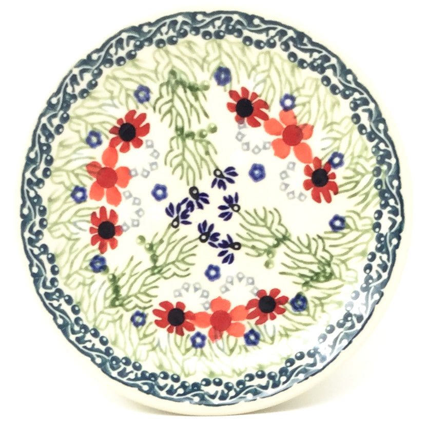 Bread & Butter Plate in Dill Flowers