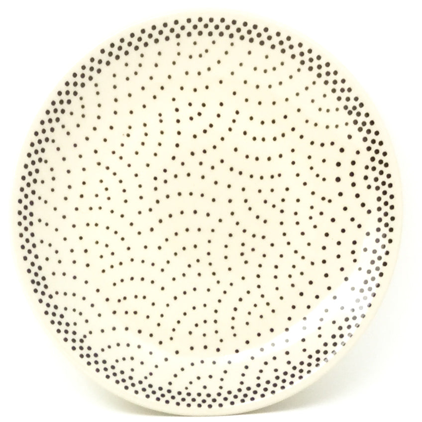 Bread & Butter Plate in Black Elegance