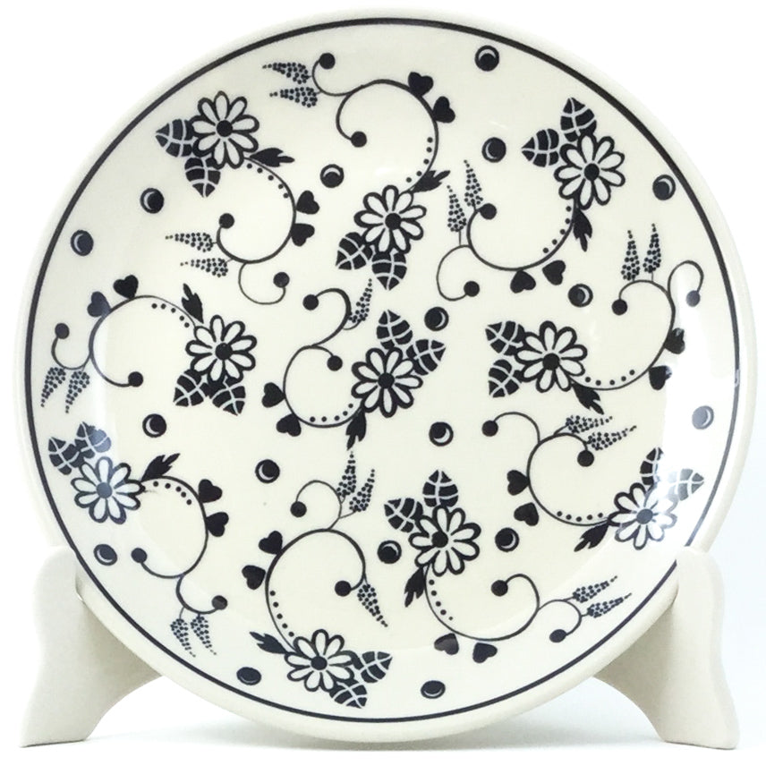Luncheon Plate in Midnight Garden