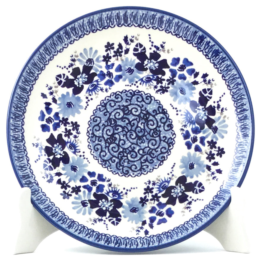 Luncheon Plate In Stunning Blue
