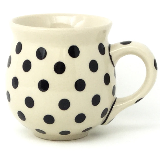 Lady's Cup 10.5 oz in Black Polka-Dot
