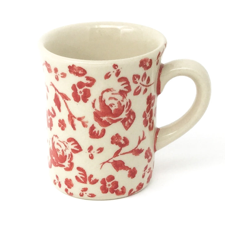 Espresso Cup 4 oz in Antique Red