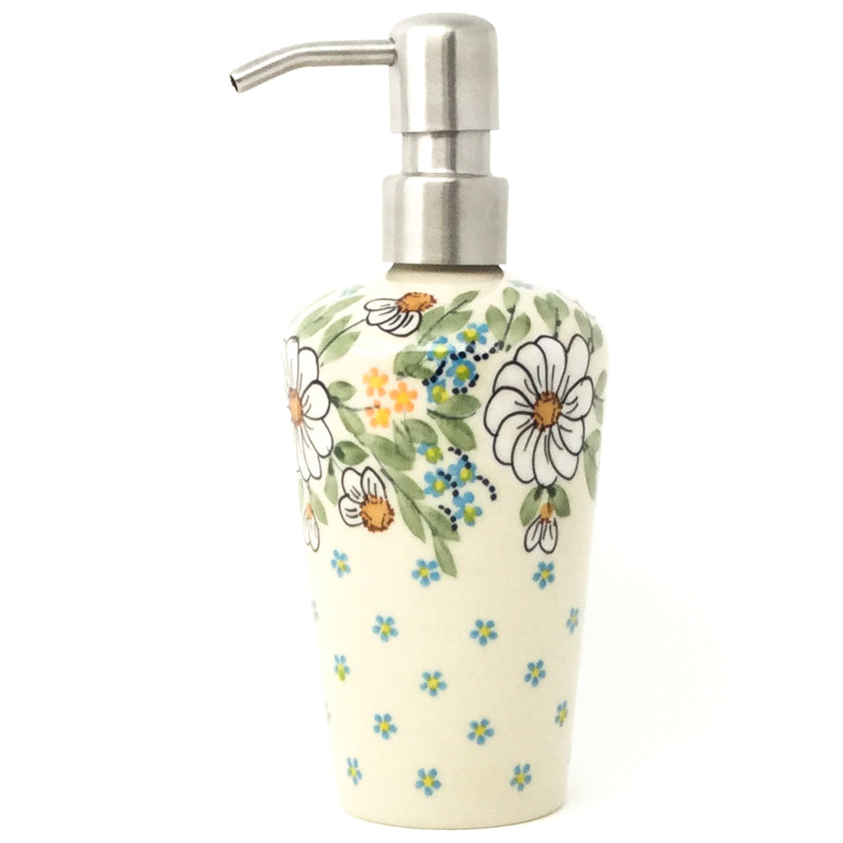 Soap Dispenser in Spectacular Daisy