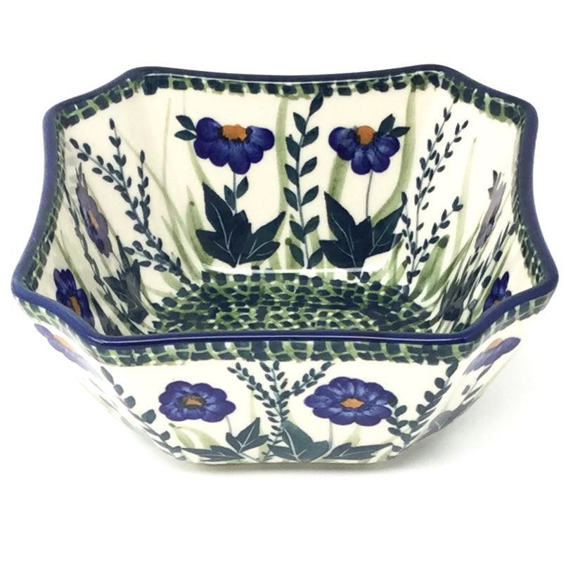 Square Soup Bowl 16 oz in Wild Blue