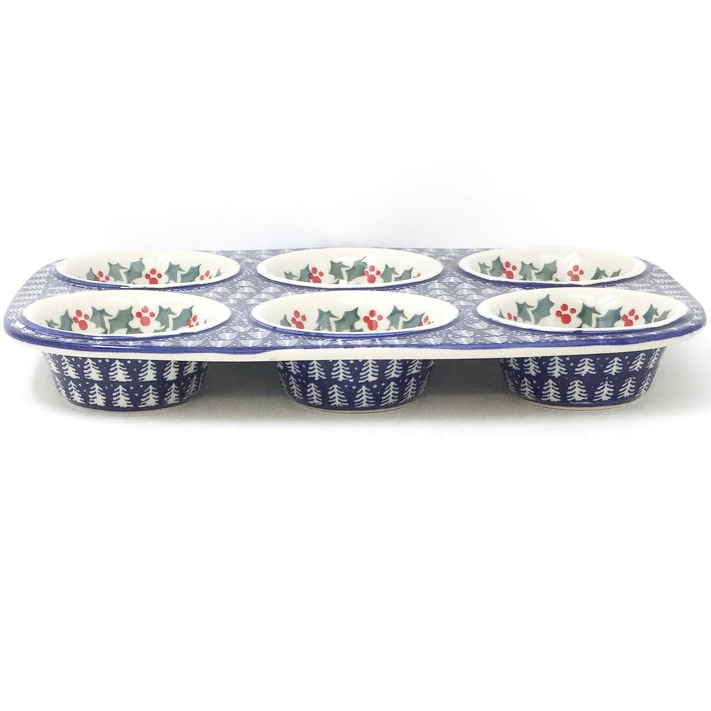 Polish Pottery Muffin Baker