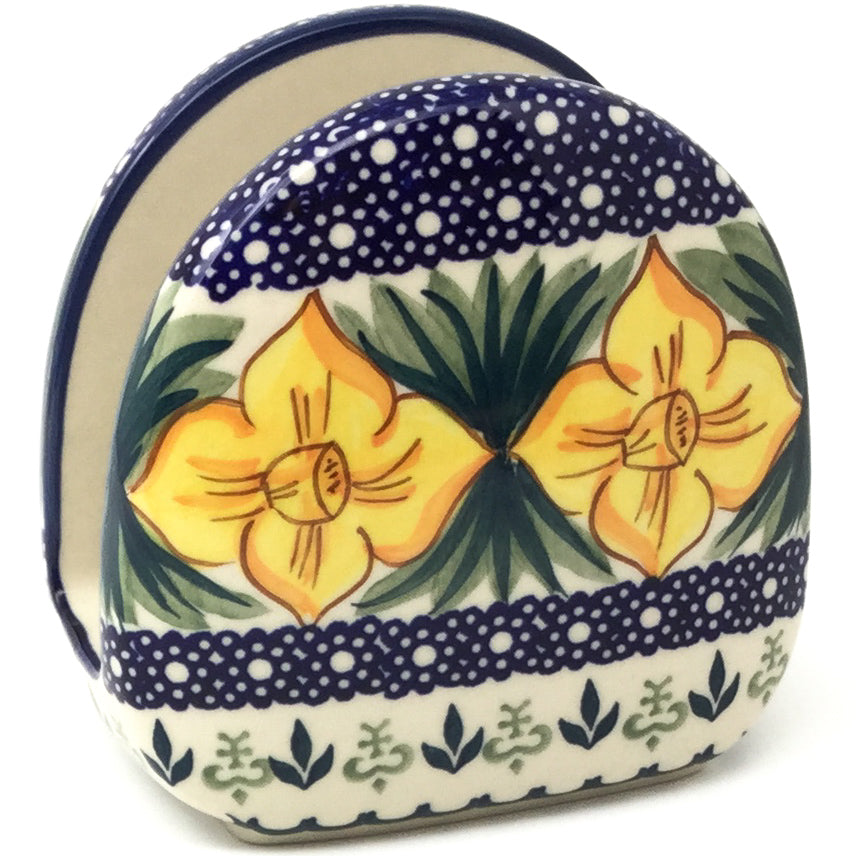 Napkin Holder in Daffodils