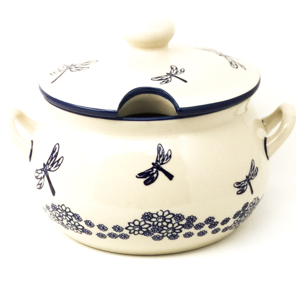 Covered Tureen 4 qt in Dragonfly