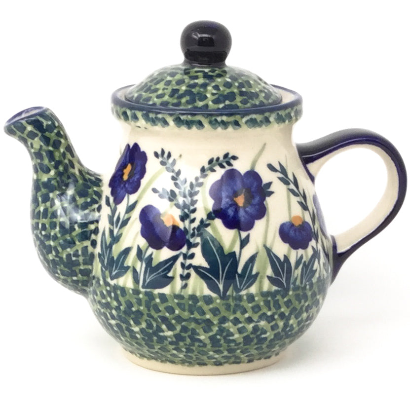 Night Time Teapot 12 oz in Wild Blue