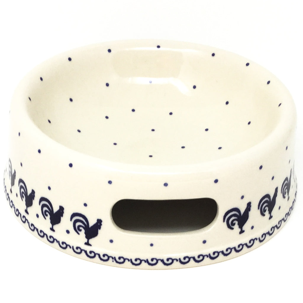 Md Dog Bowl in Blue Roosters