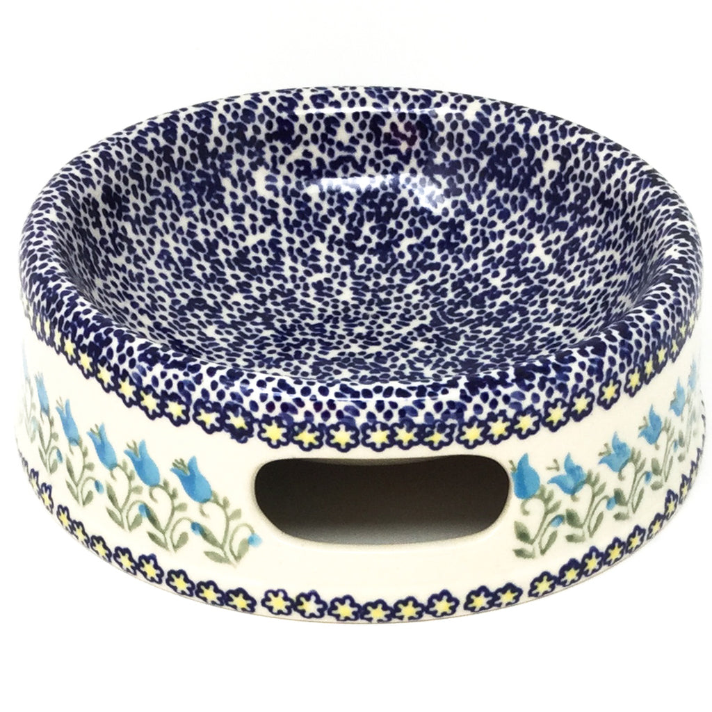 Md Dog Bowl in Blue Tulips
