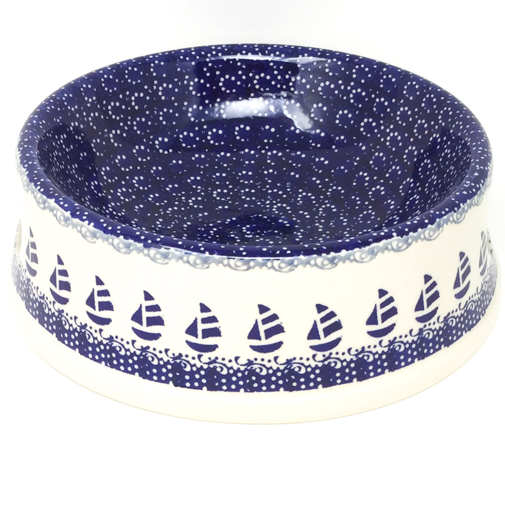 Lg Dog Bowl in Sail Regatta