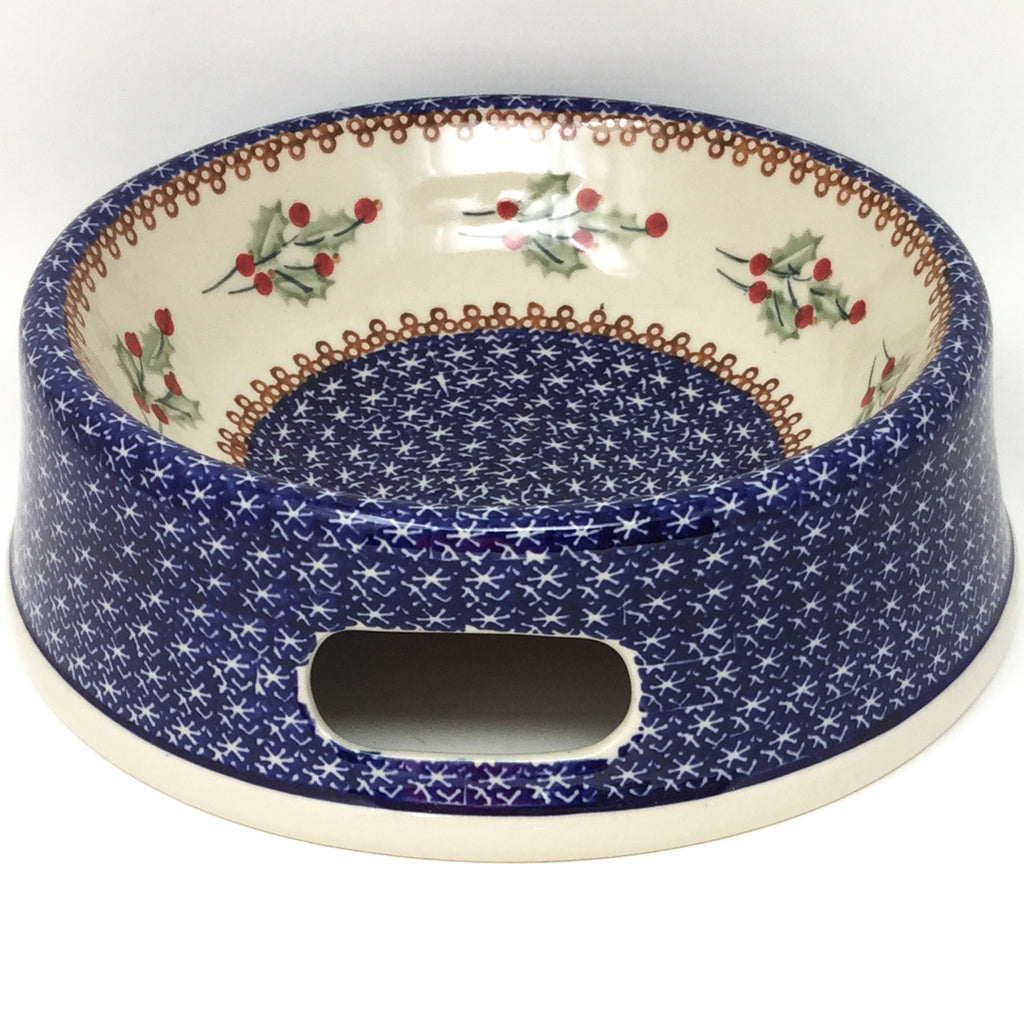 Lg Dog Bowl in Holly