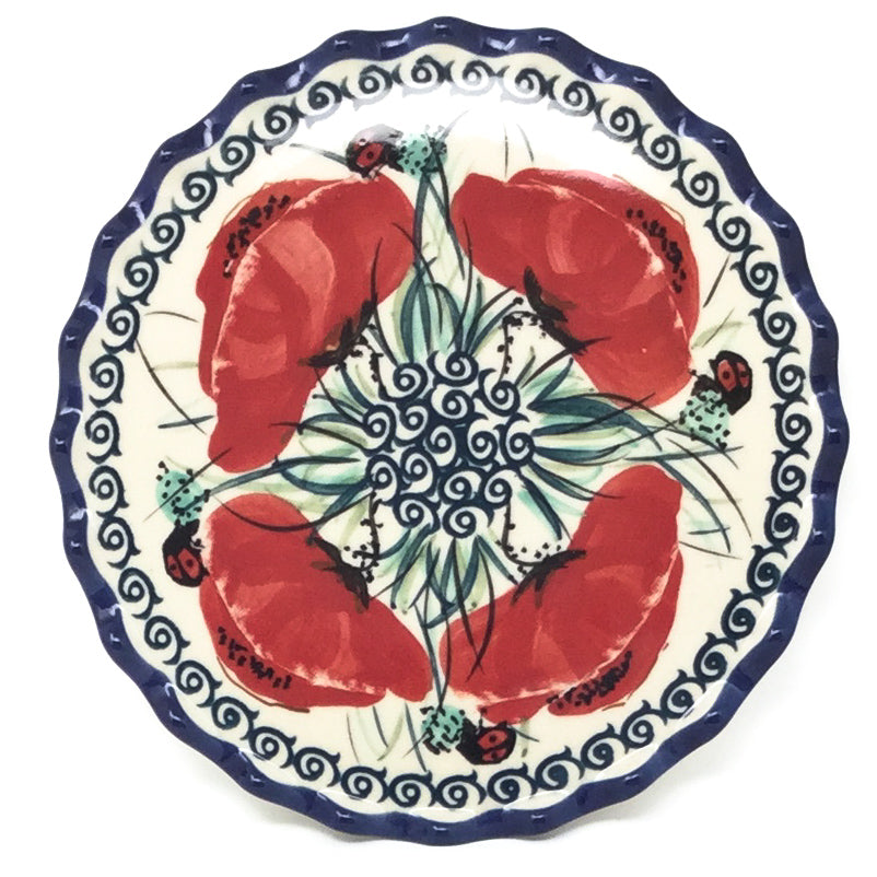 Trivet in Polish Poppy