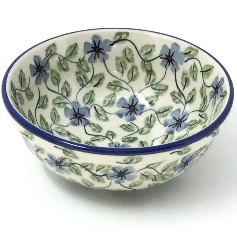 Dessert Bowl 12 oz in Blue Clematis