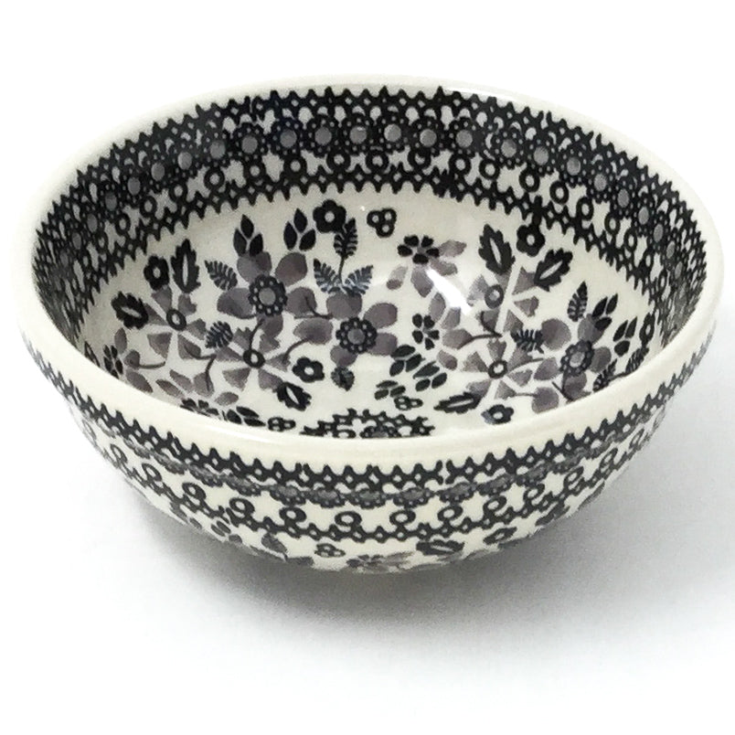 Dessert Bowl 12 oz in Gray & Black