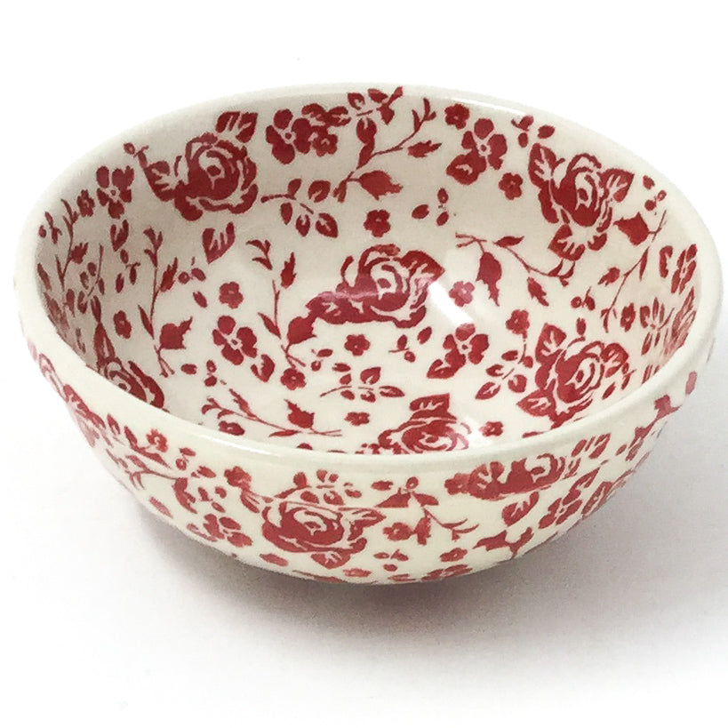 Dessert Bowl 12 oz in Antique Red