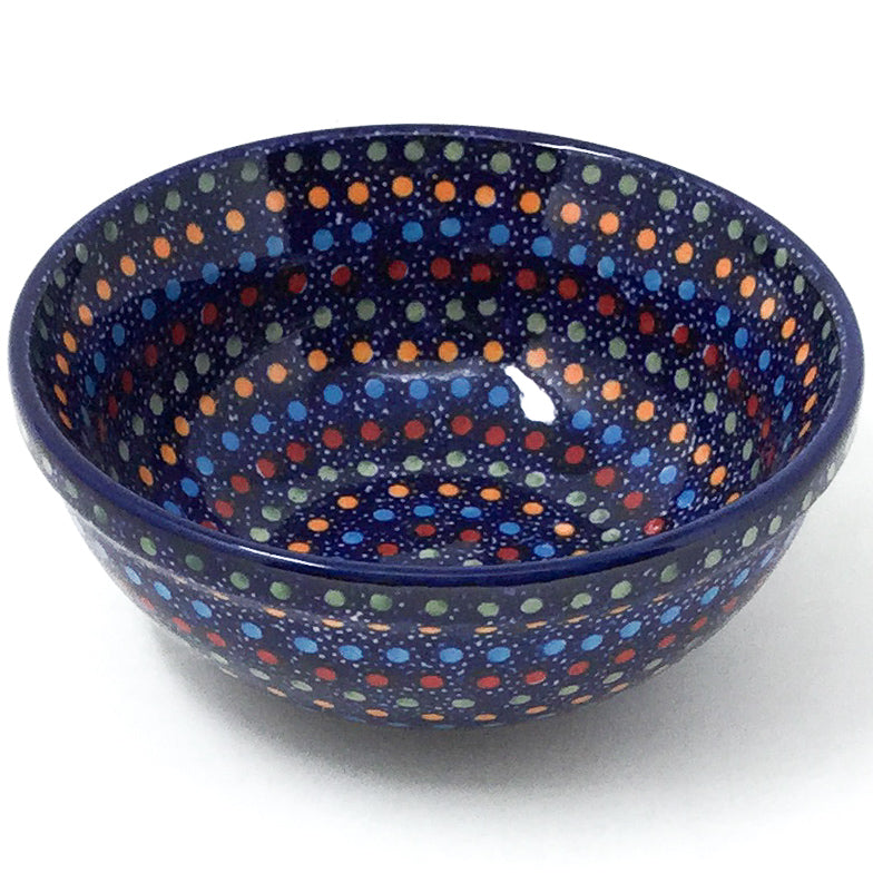 Dessert Bowl 12 oz in Multi-Colored Dots