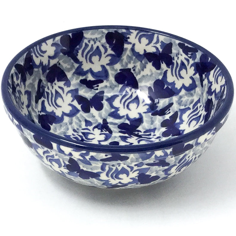 Dessert Bowl 12 oz in Blue Butterfly