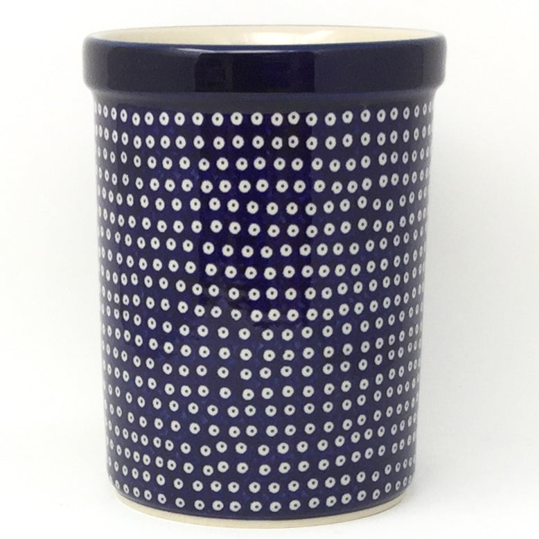 Utensil Holder 2 qt in Blue Elegance
