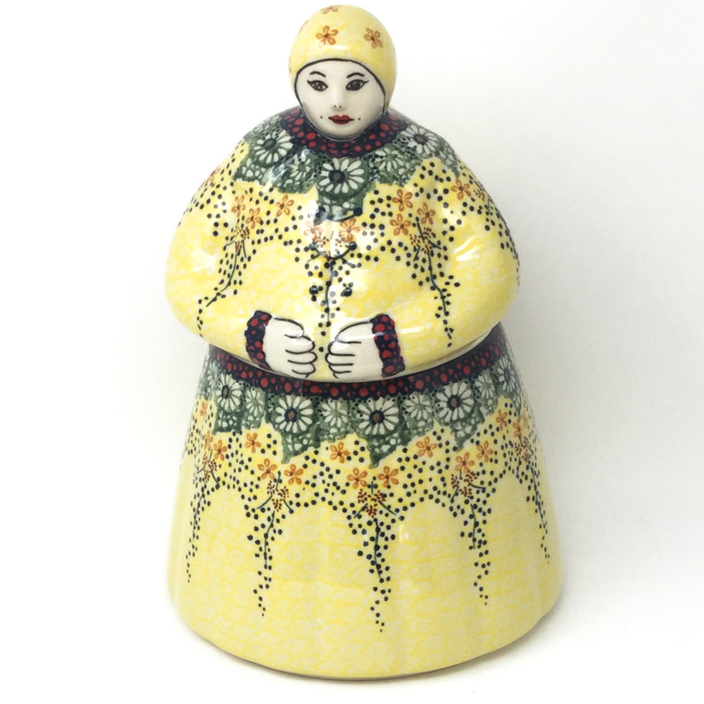 Babcia Cookie Jar in Cottage Decor