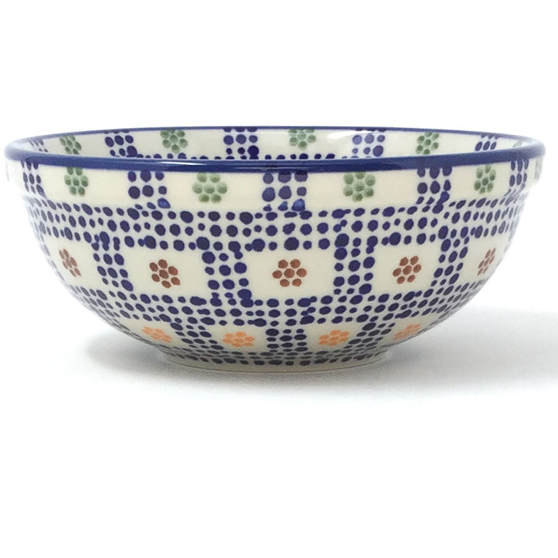 Dessert Bowl 12 oz in Modern Checkers