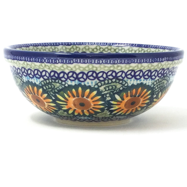 Dessert Bowl 16 oz in Sunflowers
