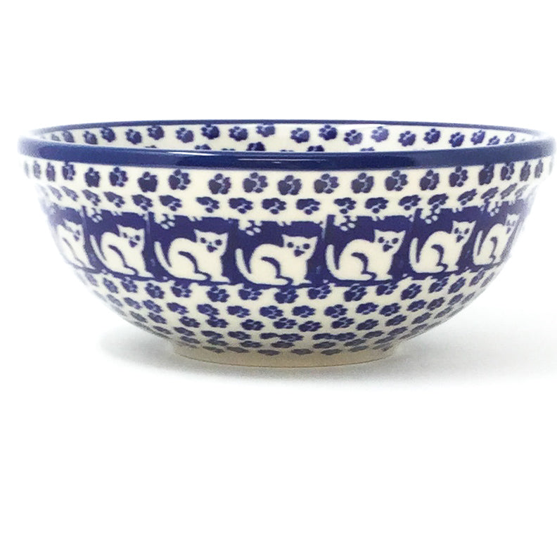 Dessert Bowl 12 oz in Blue Cats