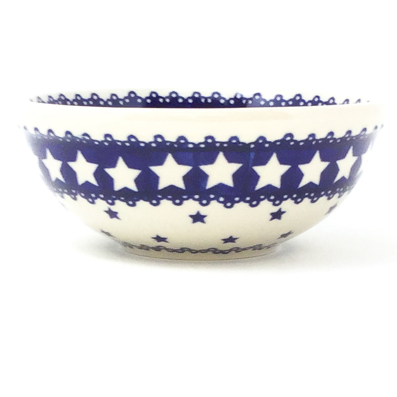 Dessert Bowl 12 oz in Blue Stars