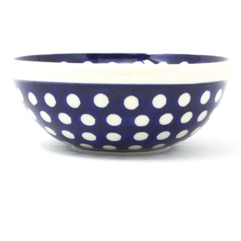 Dessert Bowl 12 oz in White Polka-Dot