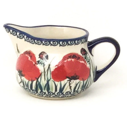 Creamer 6 oz in Polish Poppy