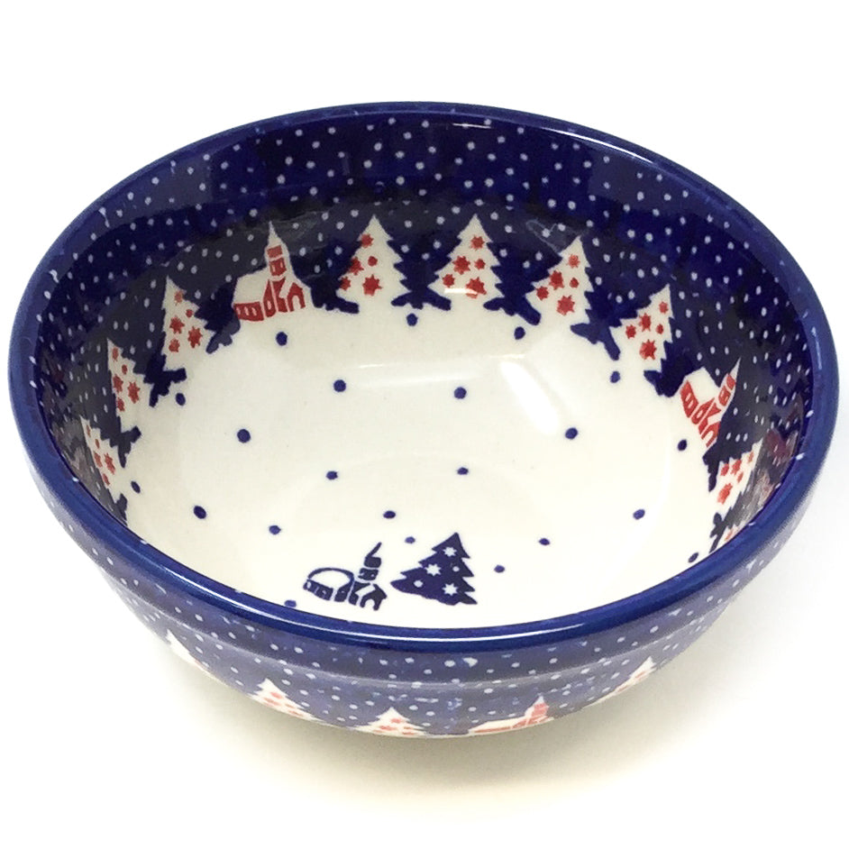 Dessert Bowl 12 oz in Winter Village