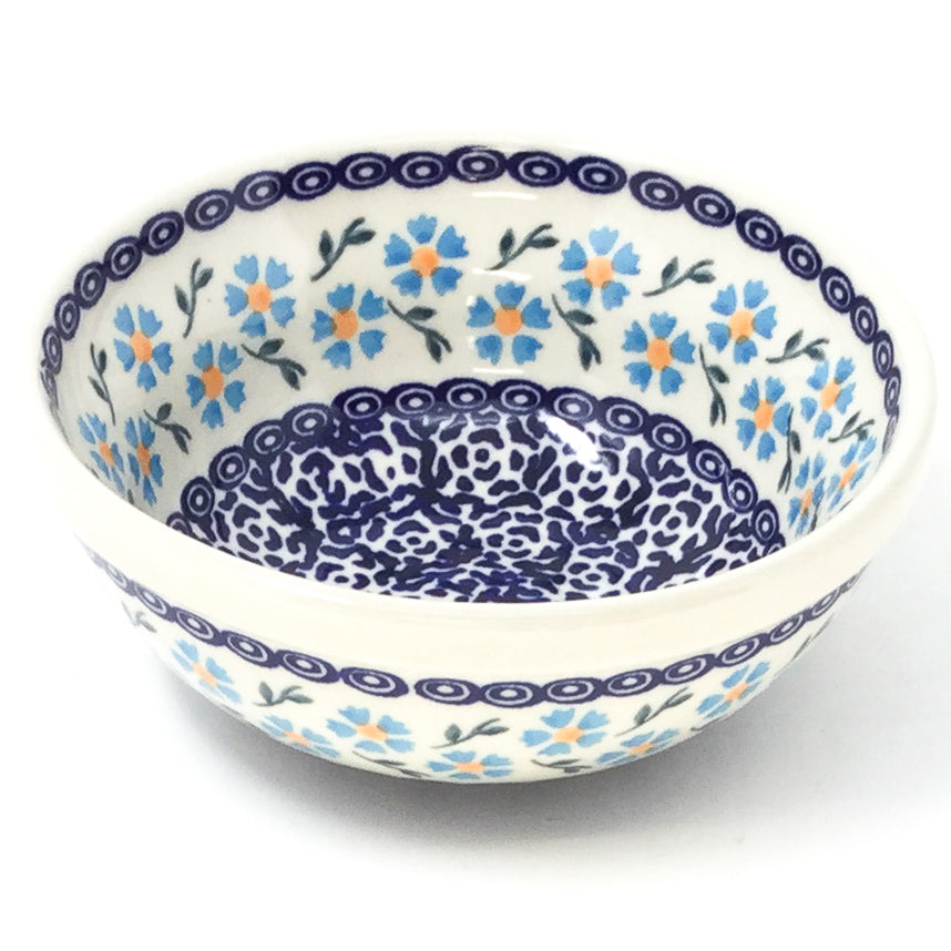 Dessert Bowl 12 oz in Blue Daisy