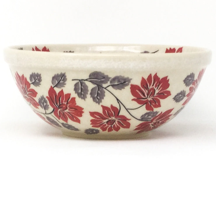 New Soup Bowl 20 oz in Red & Gray