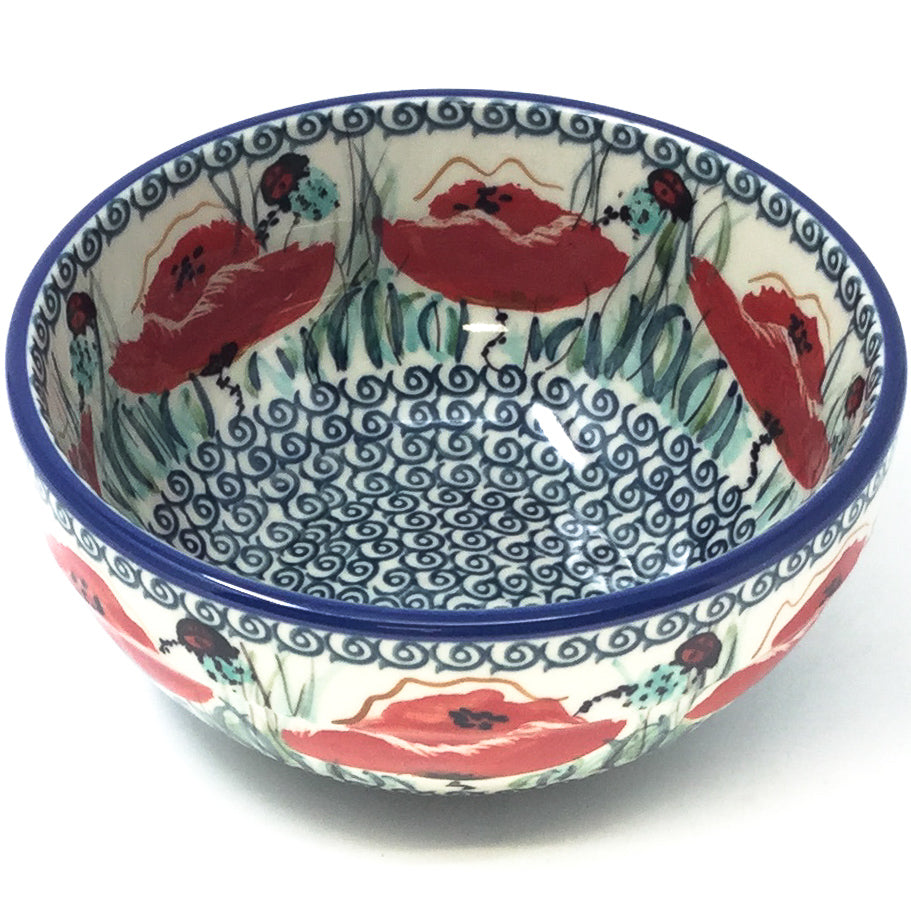 Soup Bowl 24 oz in Polish Poppy