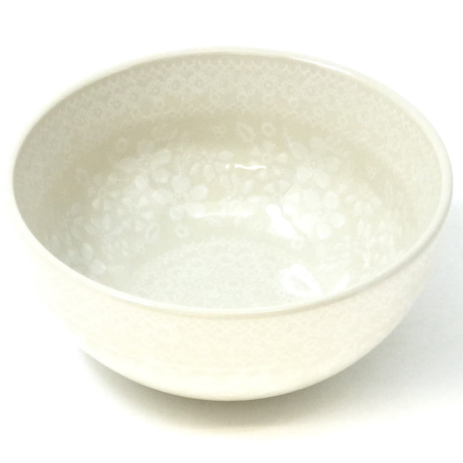 Soup Bowl 24 oz in White on White