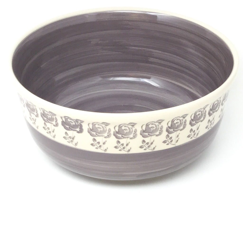 Family Deep Bowl in Gray Rose