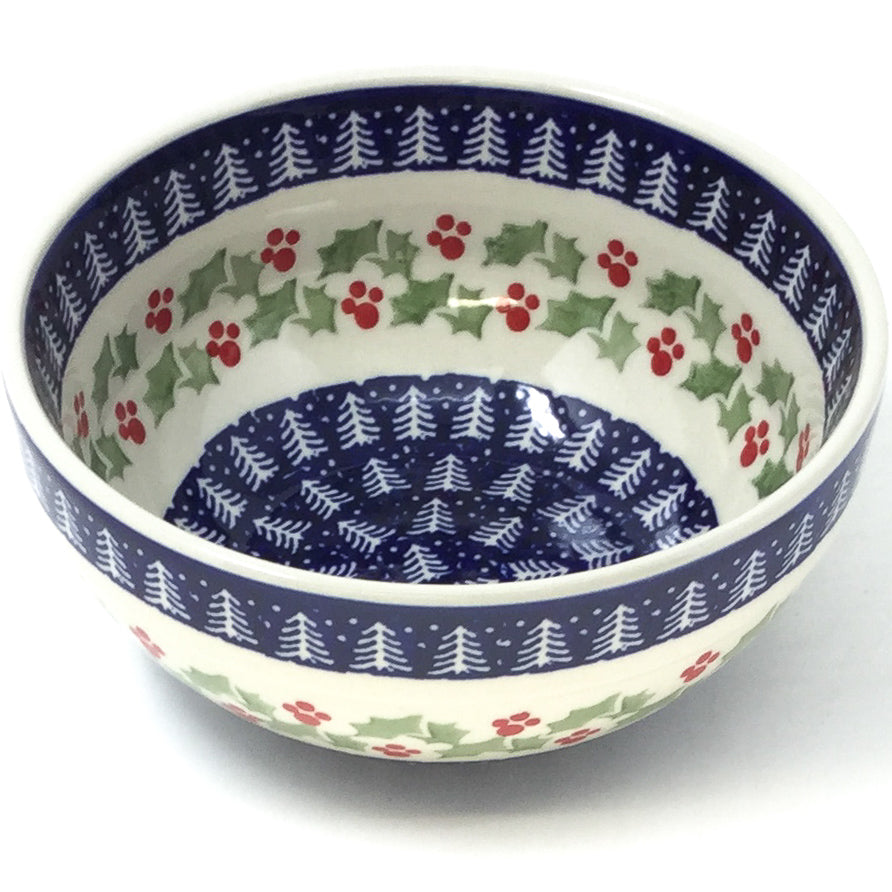 Soup Bowl 24 oz in Winter Holly