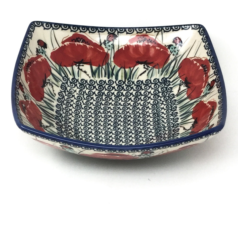 Sm Nut Bowl in Polish Poppy