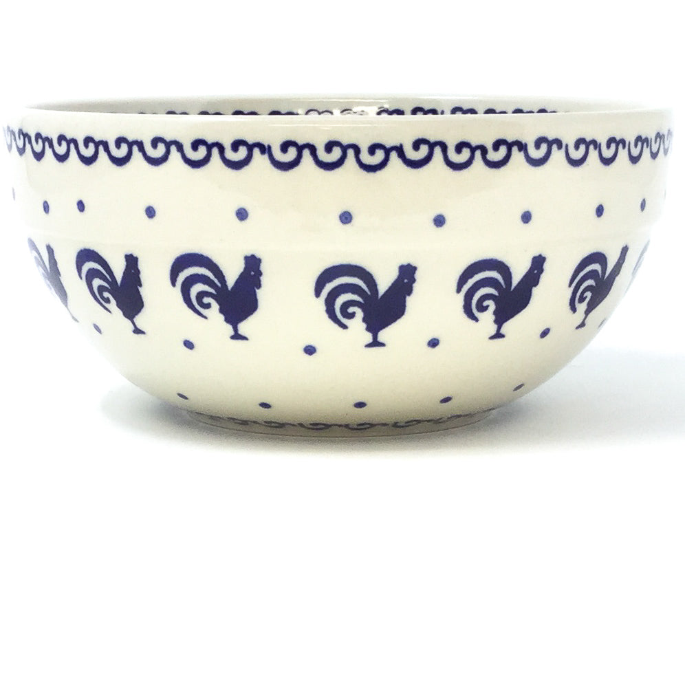 Soup Bowl 24 oz in Blue Roosters