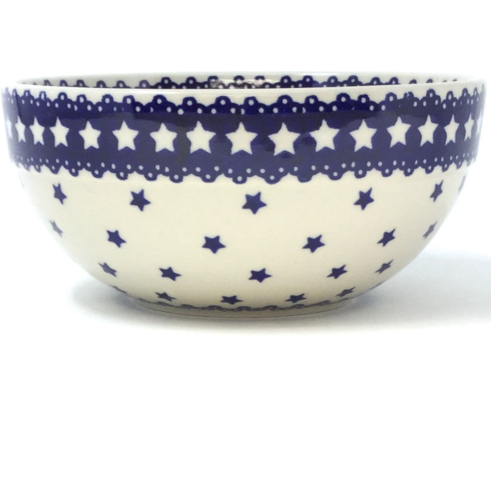 Soup Bowl 24 oz in Blue Stars