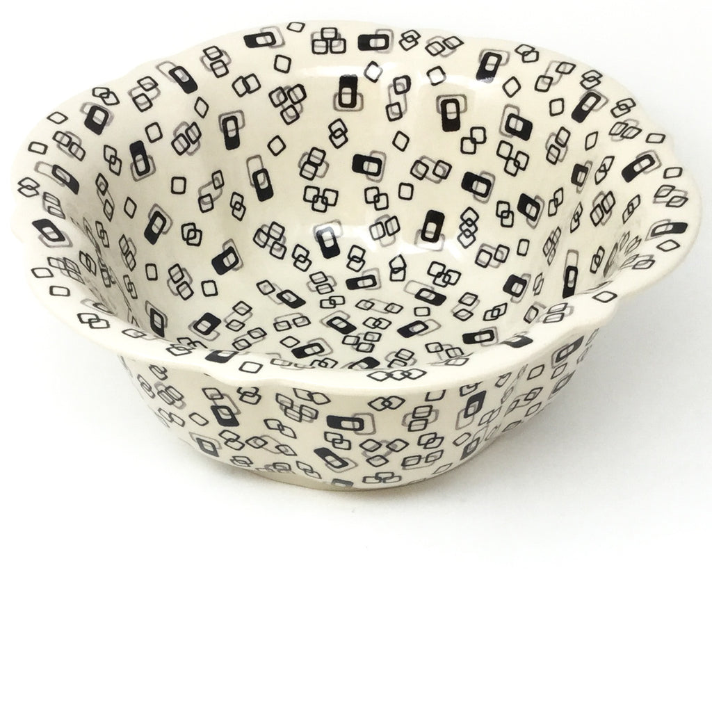 Md Retro Bowl in Modern Gray & Black
